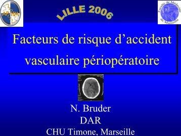 Facteurs de risque d'accident vasculaire périopératoire - JLAR