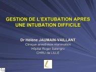 gestion de l'extubation apres une intubation difficile - JLAR