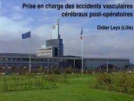 Prise en charge des accidents vasculaires cérébraux post ... - JLAR