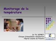 Le monitorage de la température (Juin 2005) - JLAR