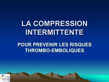 LA COMPRESSION INTERMITTENTE - JLAR