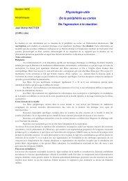 Physiologie utile - JLAR