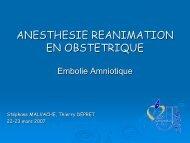 Embolie Amniotique - JLAR