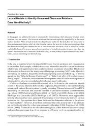 Lexical Models to Identify Unmarked Discourse Relations ... - JLCL
