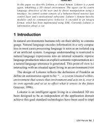 The instructible agent Lokutor - JLCL