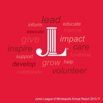 2010-11 Annual Report - Junior League of Minneapolis