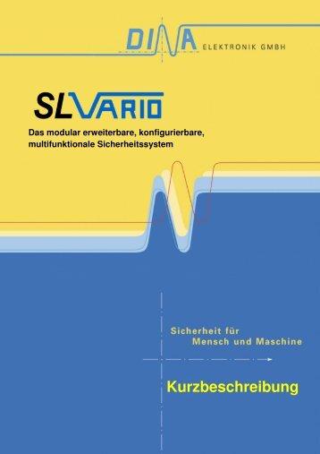 Kurzbeschreibung DI SL - DINA Elektronik Gmbh