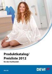 Produktkatalog/ Preisliste 2012 - grohatherm GmbH