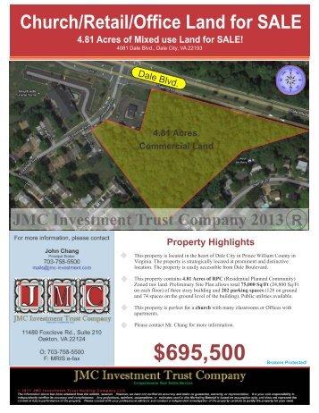 4081 Dale Blvd., Woodbridge, VA 22193 - JMC Investment Trust ...