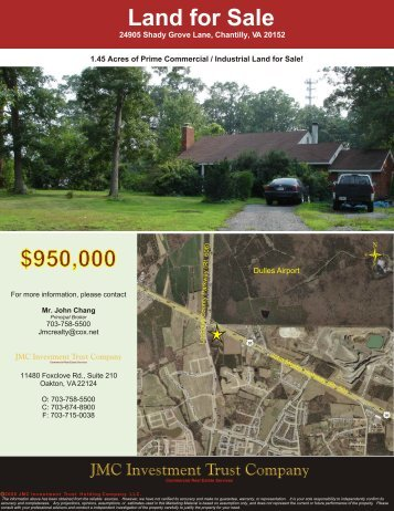24905 Shady Grove Lane, Chantilly, VA 20152 - JMC Investment ...