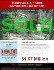 6.7Acres, Industrial, I-5 Land for Sale in Chantilly - JMC Investment ...
