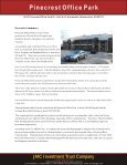 Pinecrest Office Building - JMC Investment Trust Company - Page 6