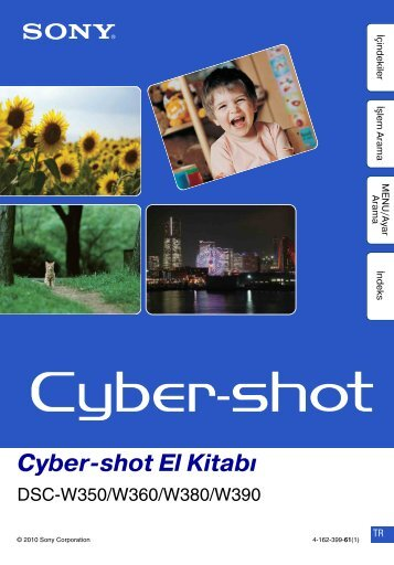 Cyber shot El Kitabı