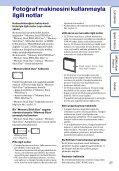 Cyber shot El Kitabı - Page 3