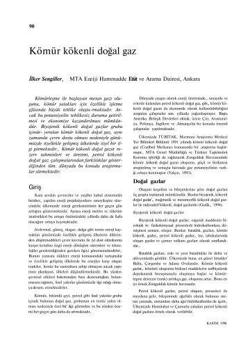 Kömür kökenli doğal gaz