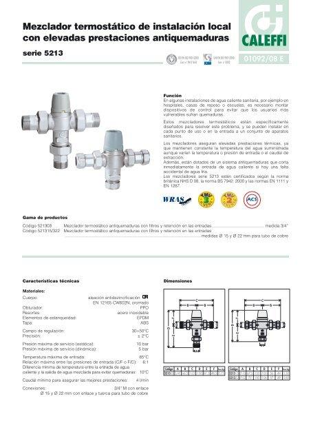 Mezclador termost/ático JULYKAI V/álvula mezcladora termost/ática V/álvula de Ducha de Control de Temperatura V/álvula termost/ática Barra mezcladora termost/ática Mezclador termost/ático Tempcontrol