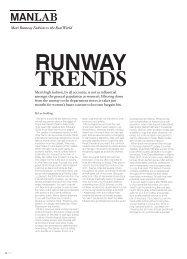 Men's Runway Fashion  vs. the Real World - Lee Suckling
