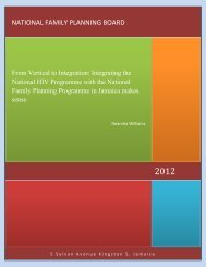 From Vertical to Integration - National Family Planning Board