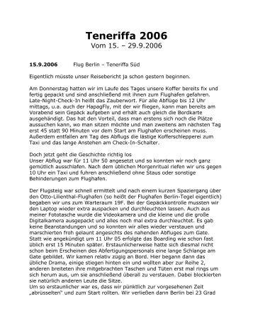 Teneriffa 2006 - Elke & Joachim Gerhard