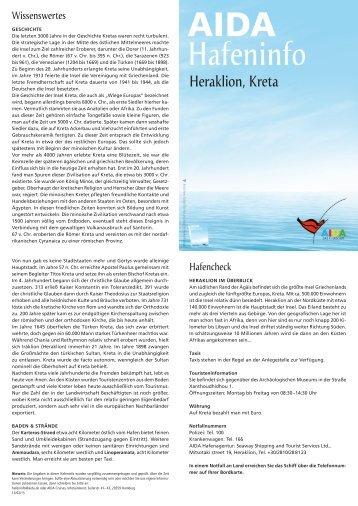 Hafeninfos - Elke & Joachim Gerhard