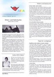 Sitten und Gebräuche - Elke & Joachim Gerhard