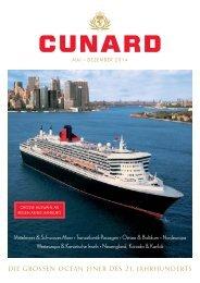 DIE GROSSEN OCEAN LINER DES 21. JAHRHUNDERTS - Cunard