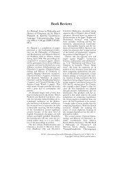 Conference Reports - Einführung in die Geschichte und Philosophie ...