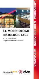 33. MORPHOLOGIE - HISTOLOGIE TAGE