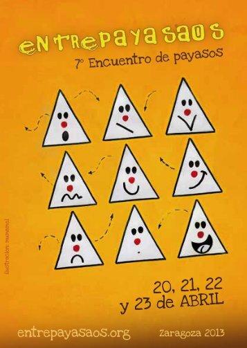 programa - Centro Joaquín Roncal
