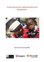 Dossier VI Muestra de Cine y Derechos Humanos - Centro Joaquín ...