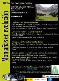 Conferencias IPE CSIC(2).pdf - Centro Joaquín Roncal