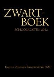 Zwartboek Schoolkosten - Jongeren Organisatie Beroepsonderwijs