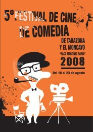 Festival cine Tarazona.pdf - Centro Joaquín Roncal