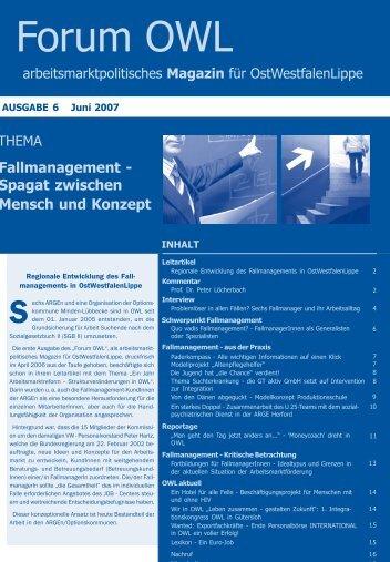 Fallmanagement - Jobcenter Herford