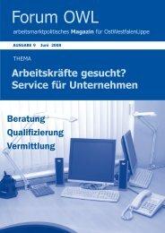 Service für Unternehmen - Jobcenter Herford