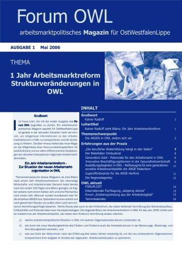 (PDF) Ausgabe 1 - Jobcenter Herford