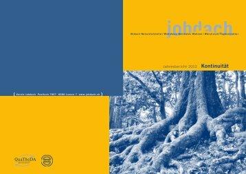 Jahresbericht 2012 Kontinuität - Verein Jobdach