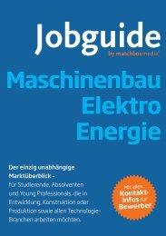 Elektro Energie - Jobguide
