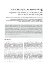Ambulatory Activity Monitoring - Jochen Fahrenberg