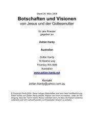 Botschaften und Visionen - Jochen-roemer.de