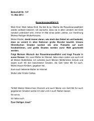 Rosenkranzwallfahrt II - Jochen-roemer.de