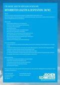 Mitarbeiter Logistik & Disposition (m/w) - Jochen Schweizer - Seite 2