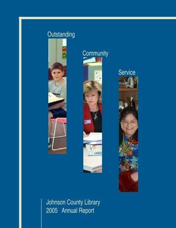 Annual Report 2005: Outstanding Community Service - Johnson ...