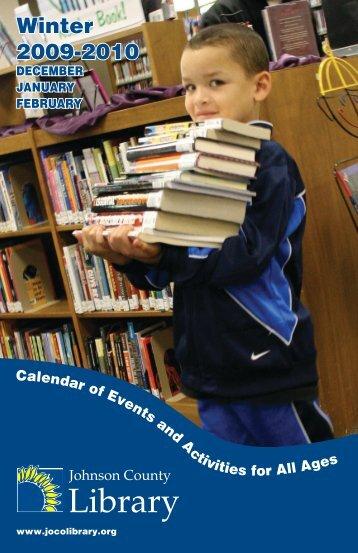 Winter 2009-2010 - Johnson County Library