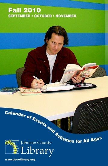 Fall 2010 - Johnson County Library