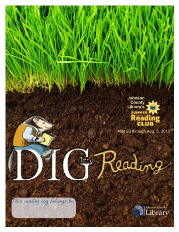 printable reading log. - Johnson County Library