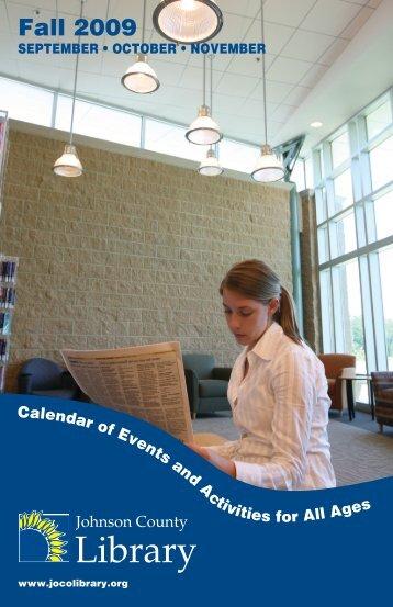 Fall 2009 - Johnson County Library