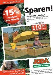 "Sandkiste ""Moritz"" - Joda"