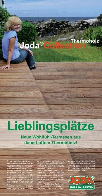 """""""Toronto"""", Deck aus Esche-Thermoholz - Joda"""