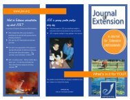 What do Extension administrators say about JOE? - The Journal of ...